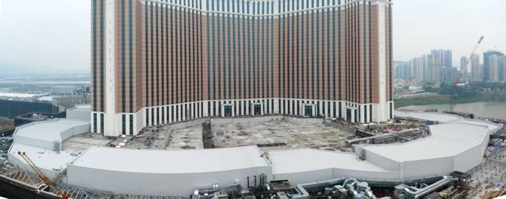 Venetian Casino East Podium Works